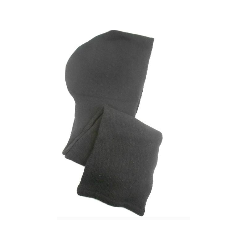 Sciarpa cappuccio in maglia punto costa inglese - 100% Puro Cashmere ... 3e80b7e7d868