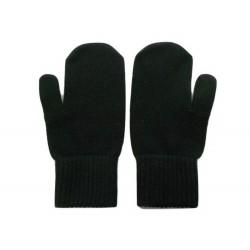 Muffole in maglia rasata e polso elasticizzato - 100% Puro Cashmere